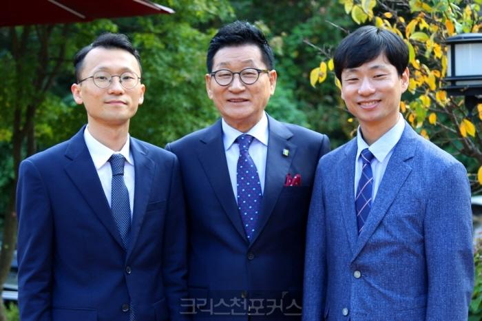 전계헌 총회장 두 아들 목사 안수로 삼부자 목사 경사