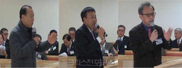 [실행위발언대] 김희태 목사, 보직교수들 사퇴하라 안하면 면직시켜야