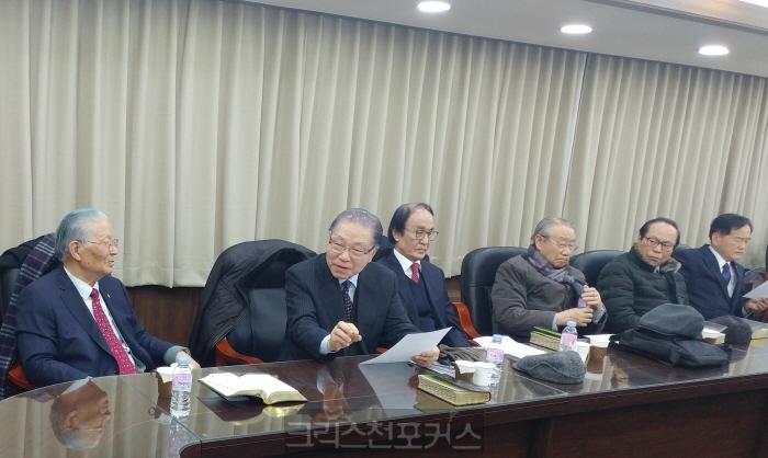 증경총회장 김동권 목사,총신 사태 해결을 위한 제안