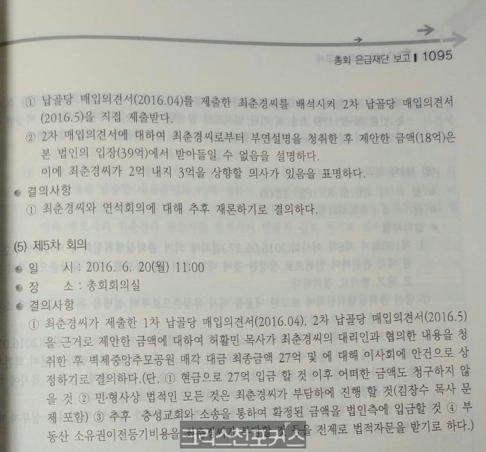 [특종] 허활민 2천만·박무용 3360만 자작극 들통나