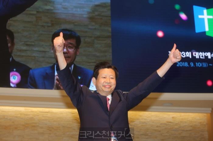 [총회소식5] 예장합동 제103회 총회장 이승희 목사 당선
