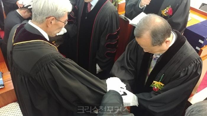 기독신문 노충헌 부장, 목사 안수로 제2사역 시작한다