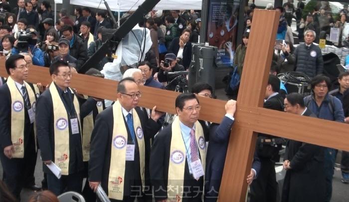 [크포TV] 한국교회 일천만 기도대성회, 신사참배와 분열을 회개