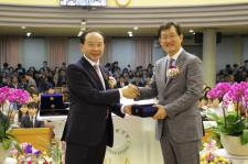 광신대 법인이사장 김용대목사 취임으로 새도약