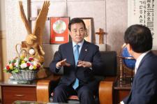 포토/ 제101회 총회장 김선규 목사